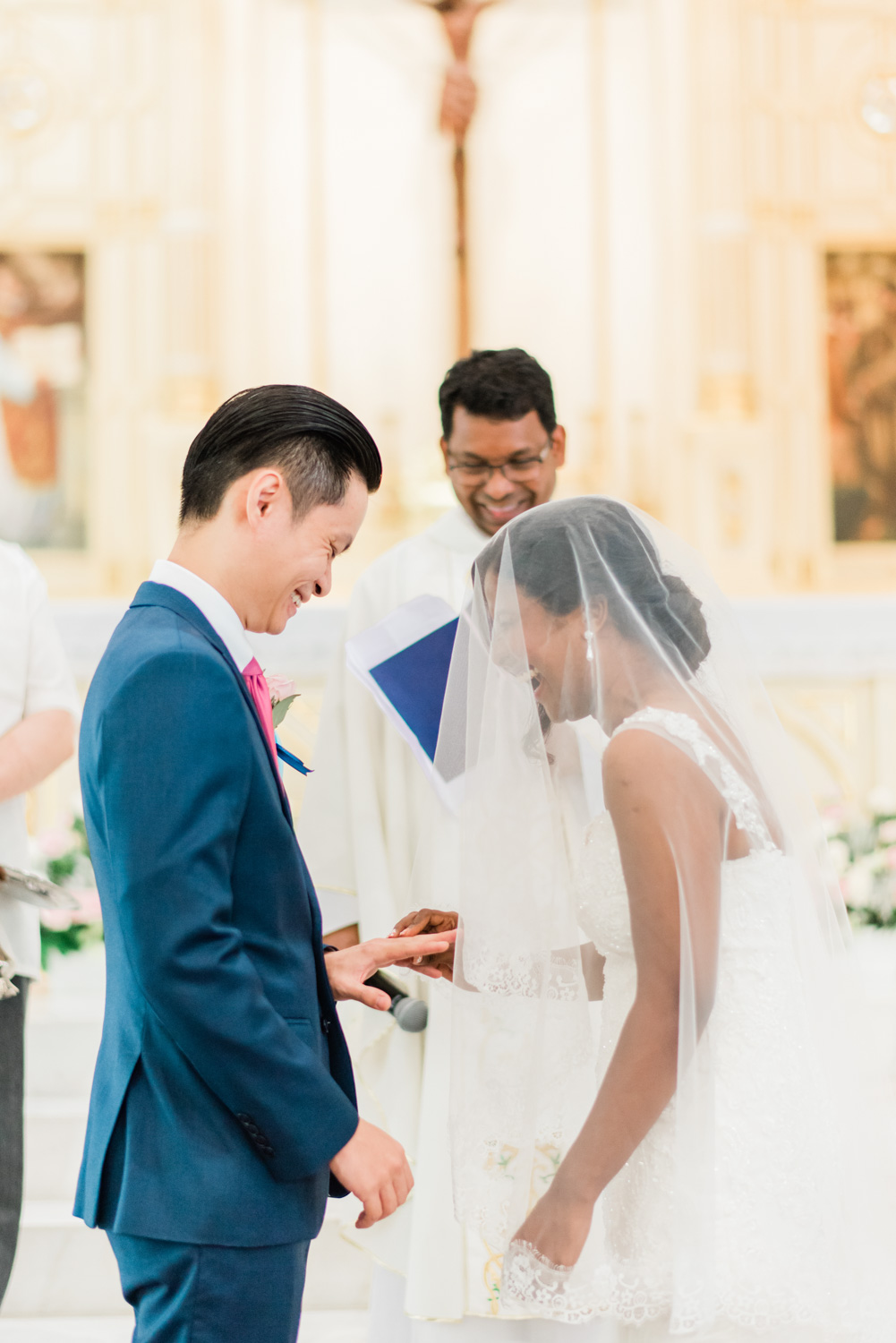 sfx-church-st-francis-xavier-kuala-lumpur-wedding-actual-day-mixed-couple-marriage-candid-blue-themed