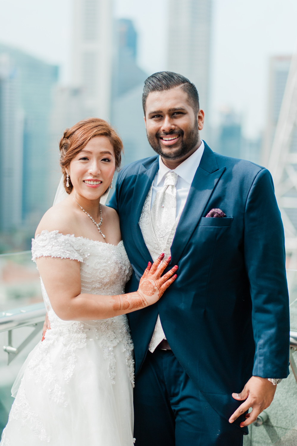 singapore-multi-cultural-wedding-mixed-couple-marriage-peninsular-hotel-muslim-chinese